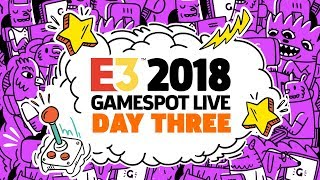E3 2018 Exclusive Gameplay Demos, Interviews and Special Guests - GameSpot Stage Show Day 3
