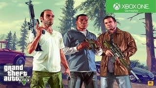 Grand Theft Auto V - Xbox One Gameplay [4K]