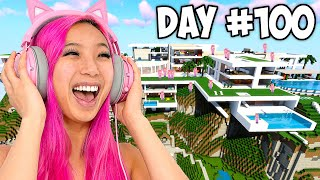 Survive 100 Days, I'll Give You $10,000! - Minecraft