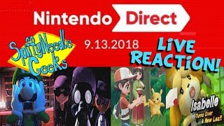SNG Reacts: Nintendo Direct (9.13.2018)