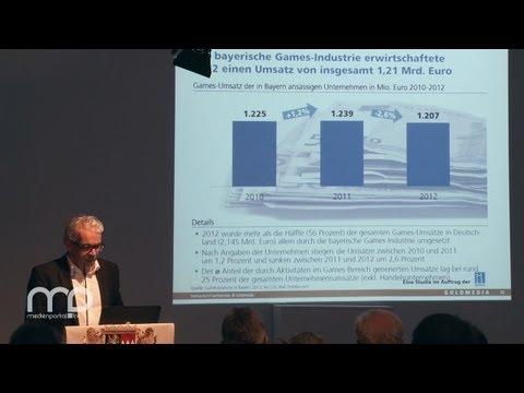 Vortrag: Games Studie Bayern 2013: Präsentation durch Prof. Goldhammer
