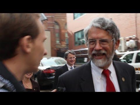 Obama\'s Science Czar John P. Holdren Confronted on Population Control