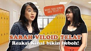 Kinal: Sarah Viloid mau jadi member JKT48 kok telat?!?   #VlogAcademy Part 1