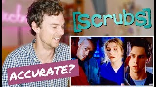 """SCRUBS """"My Old Lady"""" real DOCTOR reaction   Medical drama review"""