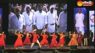 NRI Special Dance Performance on YS Jagan Navaratnalu Song..