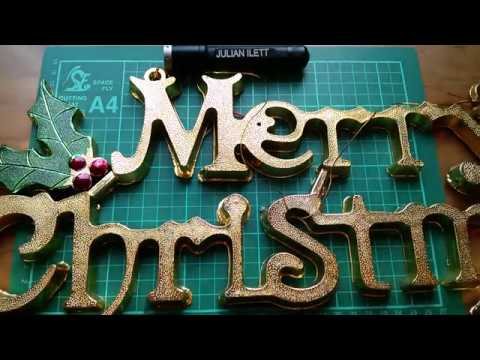 Merry Christmas LED Sign Build (part 2)
