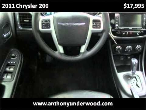 2011 Chrysler 200 Used Cars Birmingham AL