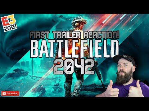 Battlefield 2042 Trailer Reaction / BATTLEFIELDS BACK & BIGGER THAN EVER / Battlefield 2042 Reaction