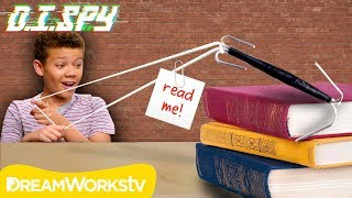 How to Send Notes to Your Neighbor! (DIY Grappling Hook) | D.I.SPY | DIY #withme