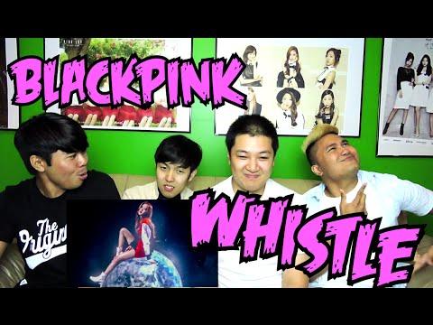 BLACKPINK  - WHISTLE MV REACTION (FUNNY FANBOYS)