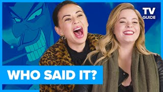The Perfectionists Cast Plays WHO SAID IT? Pretty Little Liar or Disney Villain