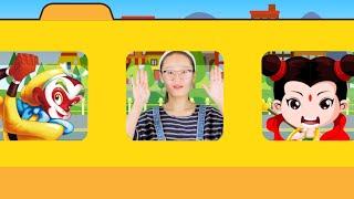 1 车轮滚啊滚The Wheels on the Bus   Nursery Rhymes for Children, Kids and Toddlers