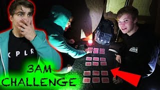 THE CARD GAME at HAUNTED QUEEN MARY SHIP | 3am Challenge