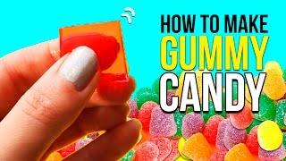 How to make GUMMY CANDY 🍬  Super EASY Candy RECIPE