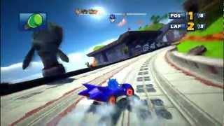 Sonic & SEGA All Stars Racing: Whale Lagoon [1080 HD]