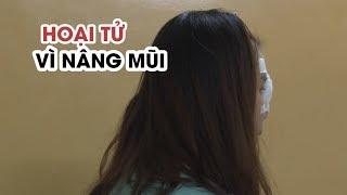 Nâng mũi bằng chất làm đầy, nữ sinh 19 tuổi hoại tử vùng mũi - YouTube