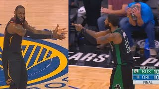 Kyrie Irving Turns Into LeBron James After Gordon Hayward Chokes Like JR Smith! Celtic vs Magic
