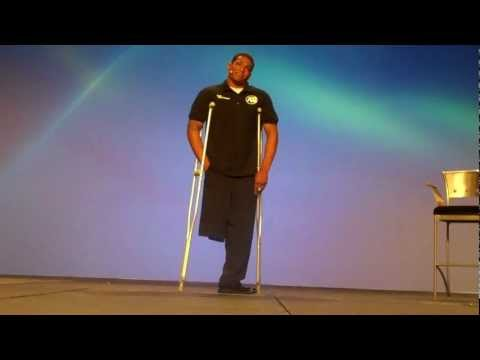 An inspirational message from Anthony Robles - www.AnthonyRobles