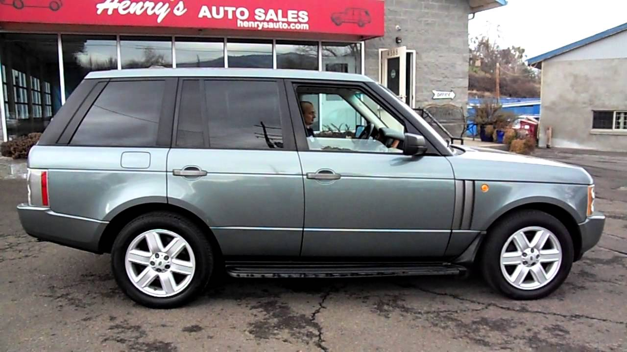 2005 Range Rover For Sale >> 2005 Range Rover For Sale Auto Car Release And Reviews