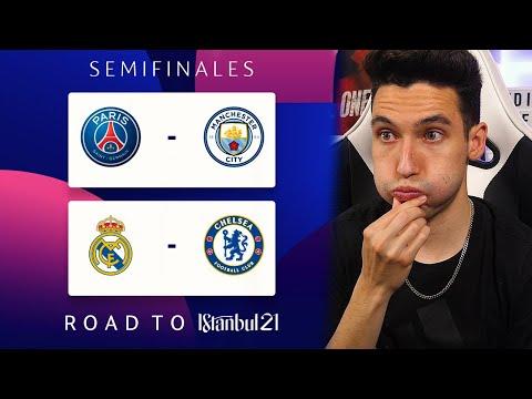 PREDICCIÓN de SEMIFINALES de la CHAMPIONS LEAGUE 2020/21
