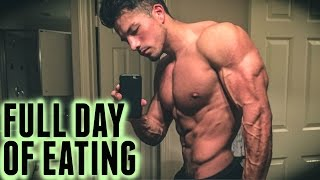 IIFYM Full Day of Eating | 5 Weeks out From Mens Physique Competition