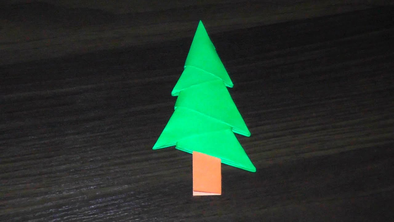 simplest 3d paper christmas tree the simplest 3d origami tree tree a master 7153