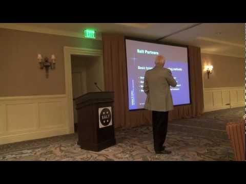 Salt Institute presentation on harvesting