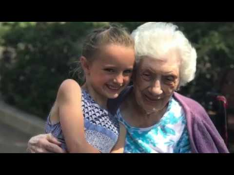 Video: Kindergarten students from Swansea Public School are spending an entire week at Runnymede Healthcare Centre. This innovative intergenerational program provides social benefits to both children and the patients.