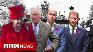 Royal talks on Harry and Meghan's future – BBC News