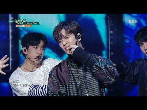 뮤직뱅크 Music Bank - Never Ever - GOT7.20170331