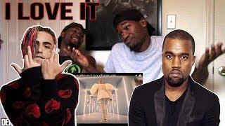 "Kanye West & Lil Pump ft. Adele Givens - ""I Love It"" (Official Music Video)Reaction"