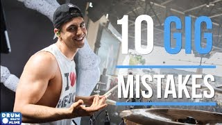 10 HUGE Mistakes Drummers Make At Gigs | Drum Beats Online