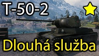 World of Tanks - T-50-2 - Za dlouholetou službu