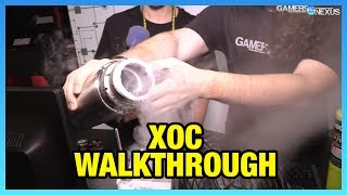 XOC Voltages Explained ft. Der8auer (7GHz LN2 Overclock)