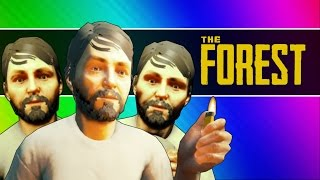 The Forest - Survival of the Idiots! (Funny Moments / Co-op Gameplay)