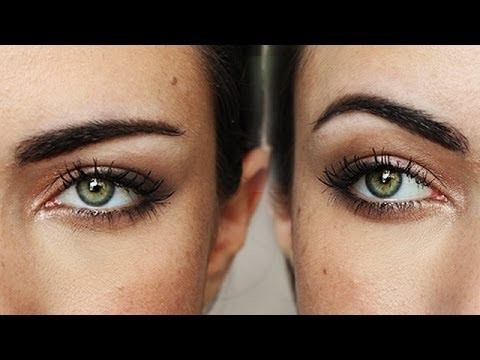 How To Shape And Groom Straight Style Eyebrows Korean