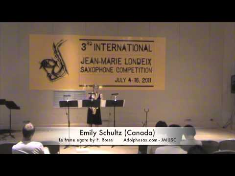 3rd JMLISC: Emily Schultz (Canada) Le frene egare by F. Rosse
