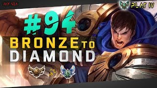 [I Was Going To Delete This Video] Facing Against Quinn Top | Garen | Bronze to Diamond Episode #94