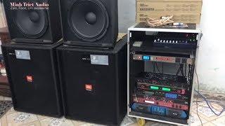 test Dàn âm thanh sân khấu - Dàn âm thanh Kẹo Kéo R33