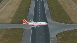 Trình tự cất cánh một chiếc máy bay