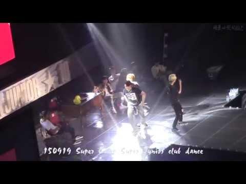 150919 Super Camp Super Junior club dance [中字]