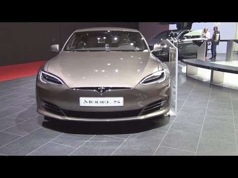 @TeslaMotors Tesla Model S (2017) Exterior and Interior in 3D