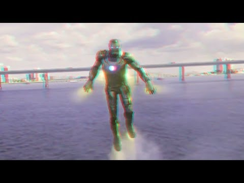Iron Man 3 - Clip (2013)(3D)(Side By Side) Air Attack