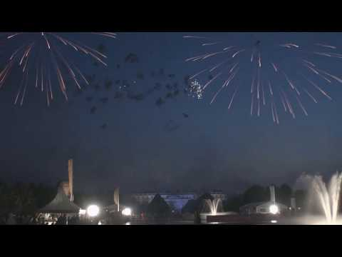 Alchemy Fireworks RHS Hampton Court Palace Flower Show Gala Preview evening