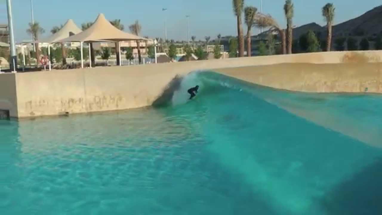 Surfing Wave Pool Dubai Youtube