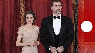 New King of Spain Felipe VI receives royal sash from