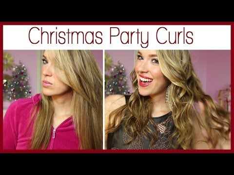 Christmas Party Curls! - Smashpipe Style