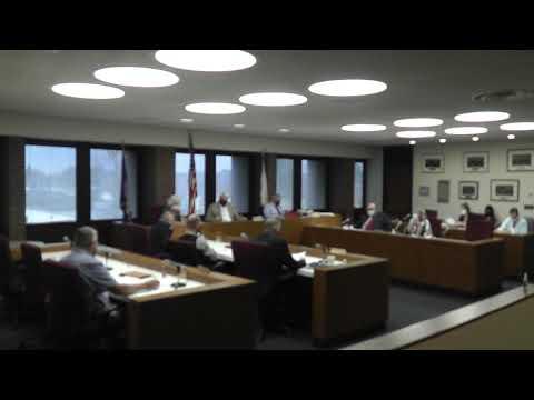 Clinton County Legislature Meeting  10-13-21