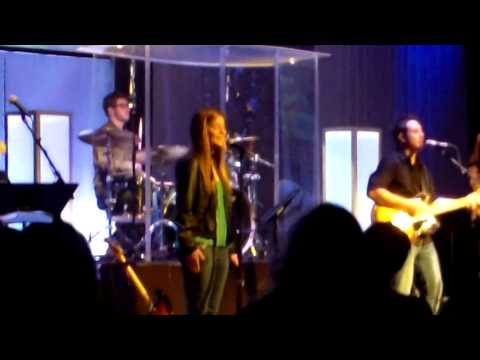 Taylor and the Worship Team at Bayside West February 2013