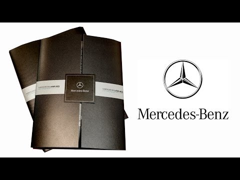 Mercedes Benz premium gate fold with belly band